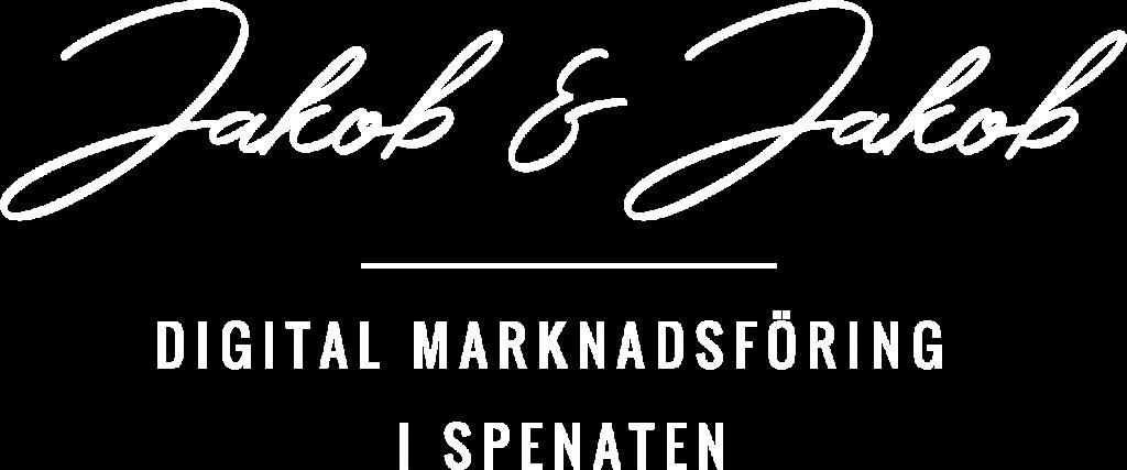 Logo Jakob & Jakob - digital marknadsföring i spenaten
